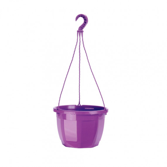 Suspension octogonale violet